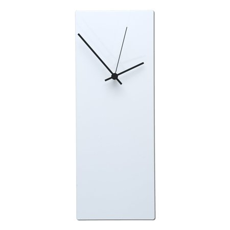Ten Seconds Studio Metal (Metal Art Studio Whiteout Wall Clock)
