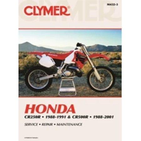 Service Manual   Honda Cr250r  88 91   Cr500r  88 01