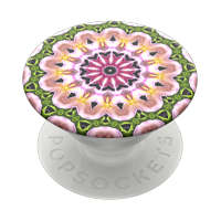 PopSockets Grip with Swappable Top for Cell Phones, PopGrip Orchid Mandala