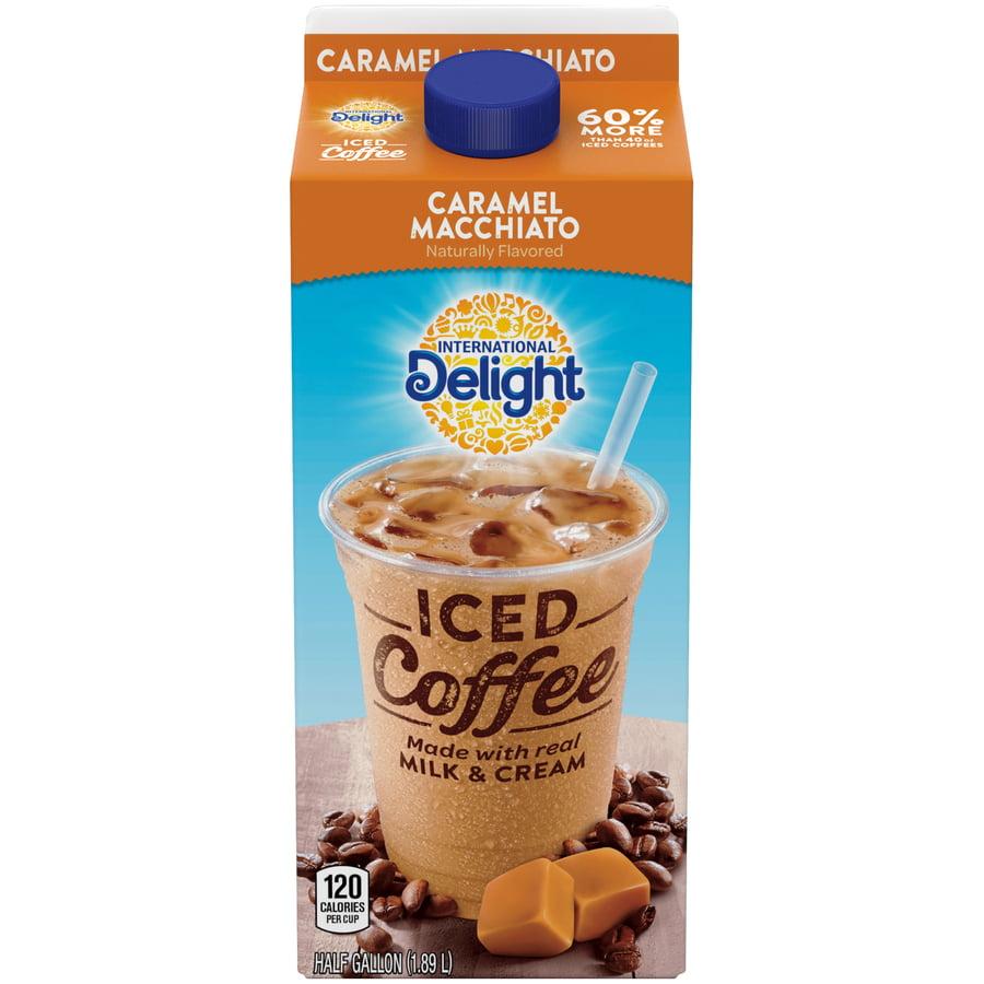 International Delight, Caramel Macchiato Iced Coffee, Half Gallon