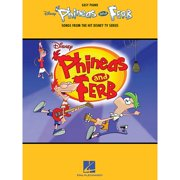 Hal Leonard Phineas And Ferb - Songs From The Hit Disney TV Series For Easy Piano