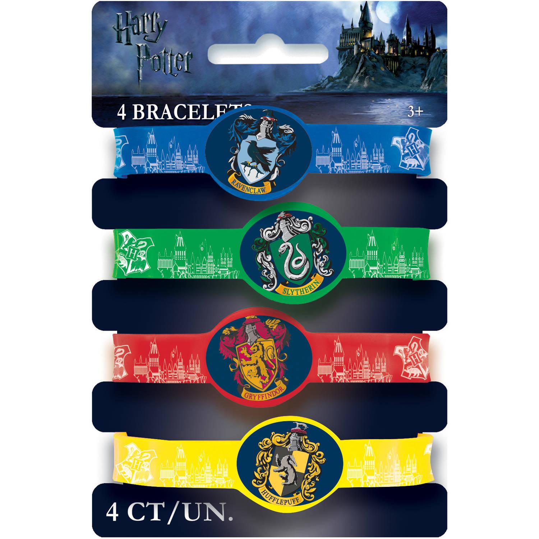 Harry Potter Stretchy Bracelets, 4ct