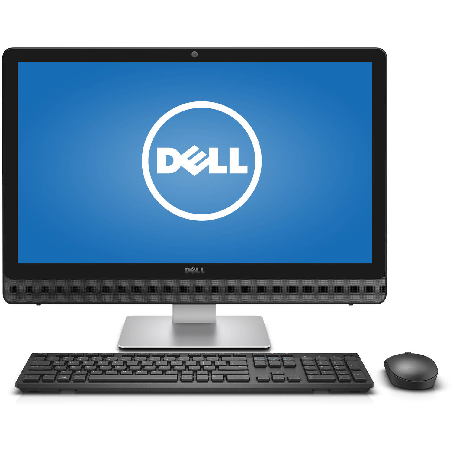 "Dell Silver Inspiron 5459 All-In-One Desktop PC with Intel Core i7-6700T Processor, 12GB Memory, 23.8"" Touchscreen Monitor, 1TB Hard Drive and Windows 10 Home"