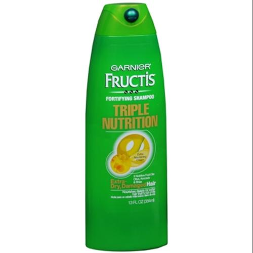 Garnier Fructis Fortifying Shampoo For Dry or Damaged Hair 13 oz (Pack of 4)