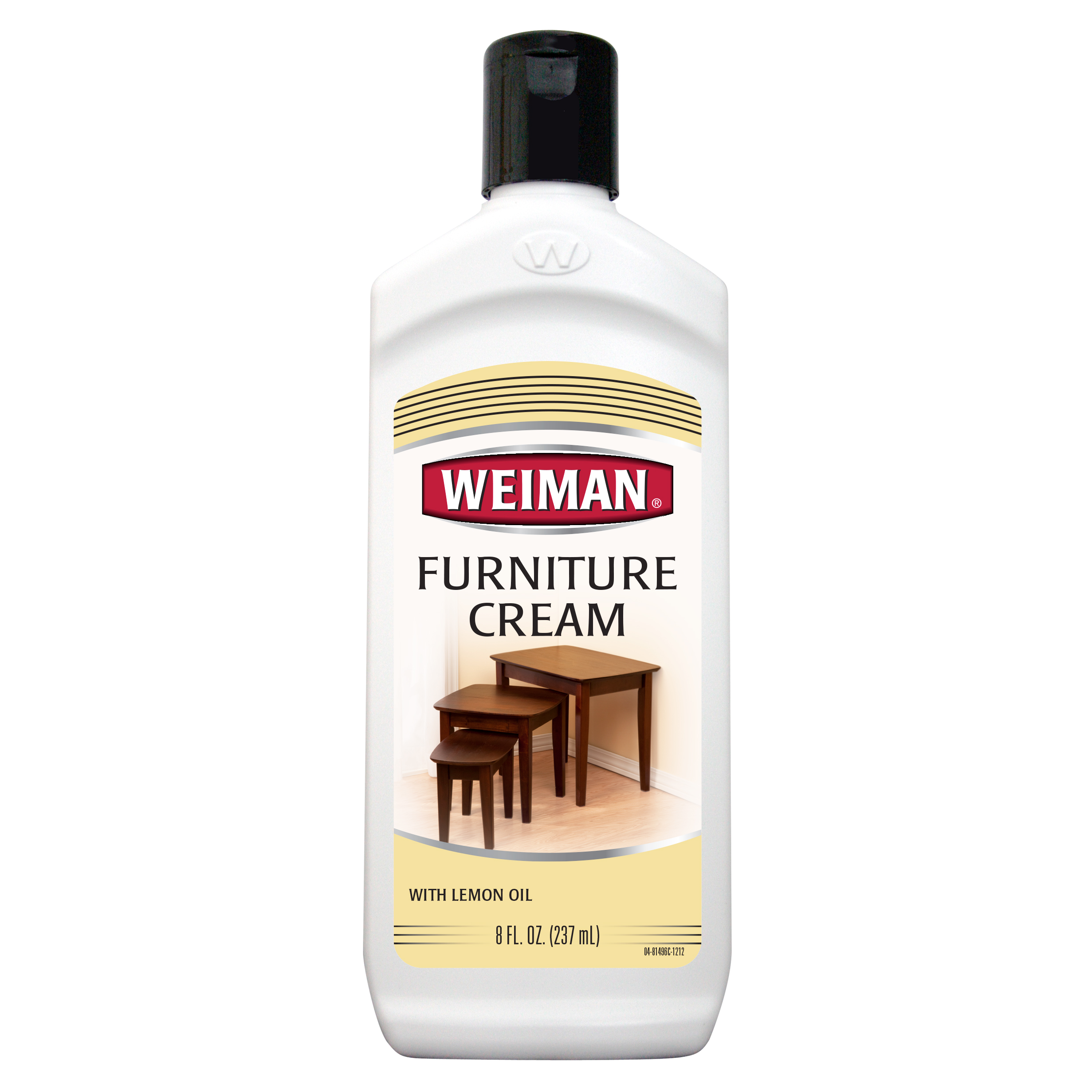 Weiman Fruniture Cream With Lemon Oil, 8.0 FL OZ