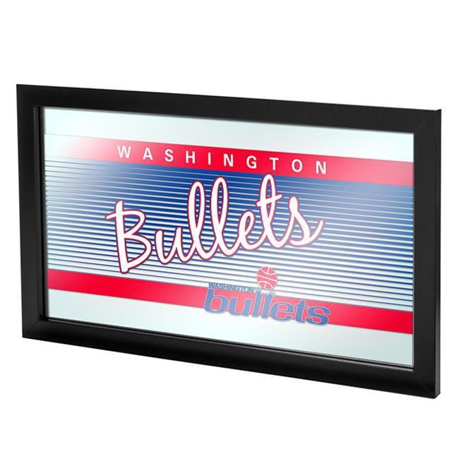 Washington Bullets Hardwood Classics NBA Logo Mirror
