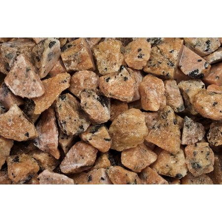Fantasia Crystal Vault: 1/2 lb Orange Calcite Rough Stones from Madagascar - Large 1