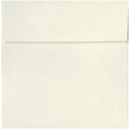 4 x 4 Square Envelopes - 70lb. Natural (50 -