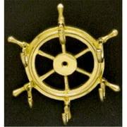Mayer Mill Brass - WKH-1 - Ship Wheel Key Hook