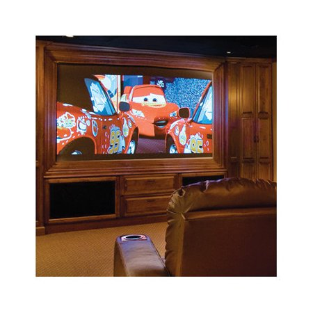 Draper Onyx with Vertex Projection Screen by