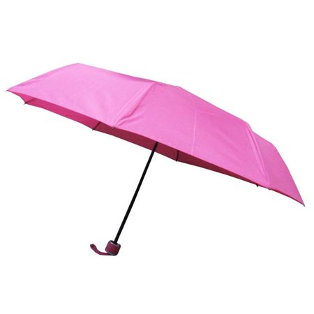 Conch 30140 Pink 39 in. Fold Umbrella in Pongee Fabric, Pink ()