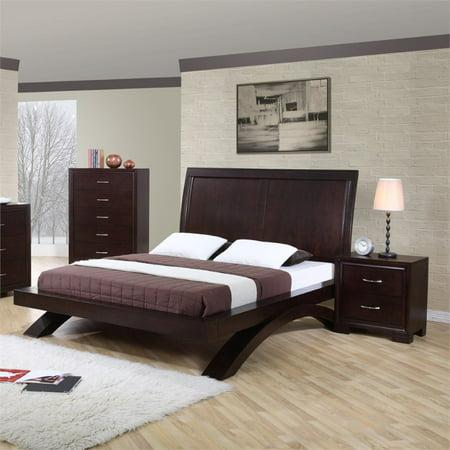 Picket House Furnishings Zoe 3 Piece Queen Bedroom Set in Espresso ...
