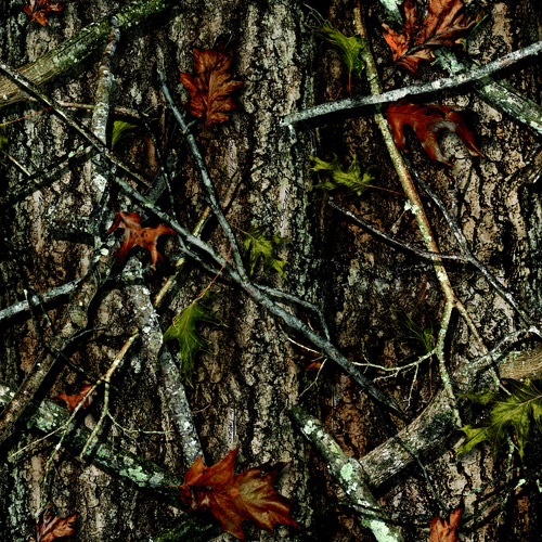 Springs Creative True Timber Camo 100% Polyester Oxford Fabric by the Yard, New Conceal