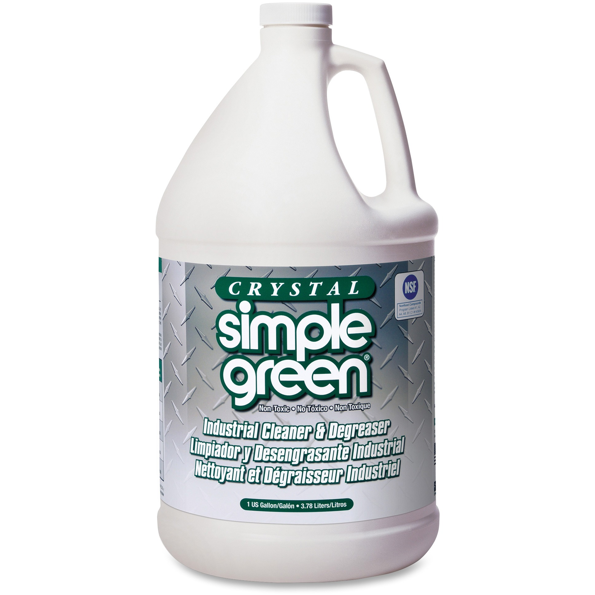 Simple Green, SMP19128, Crystal Industrial Cleaner/Degreaser, 1 Each, Clear