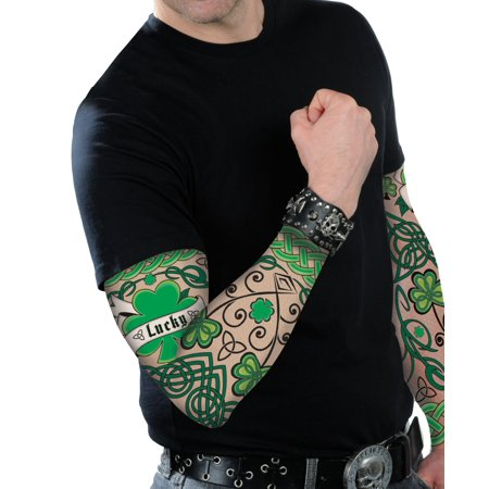 St Patrick's Day Adult Arm Tattoo (St Patrick's Day Makeup)