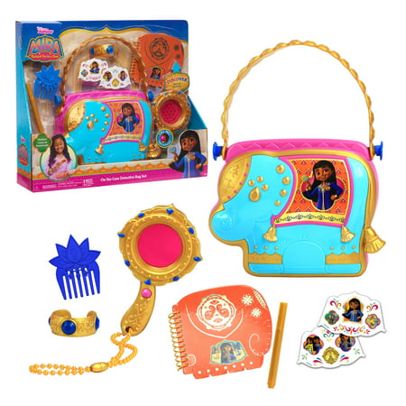 Disney Junior Mira, Royal Detective On The Case Detective Bag Set, By Just Play
