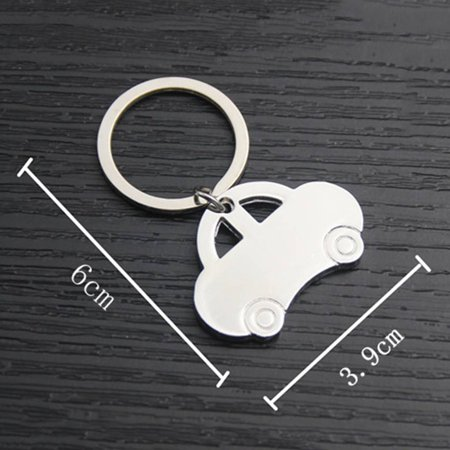 babydream1 Mini Classic Car Keychain Pendant Keychain Metal Vehicle Keyring Key Holders Decor Accessory - image 3 of 8