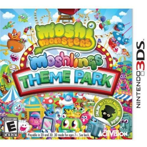 Moshi Monsters 2: Moshlings Theme Park (Nintendo 3DS)
