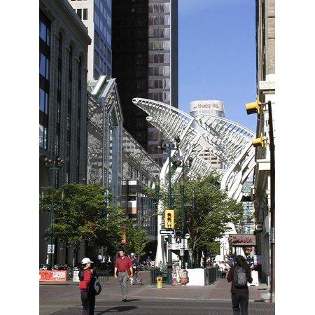 Canvas Print Canada City Buildings Down Town Calgary Alberta Stretched Canvas 10 x 14](Halloween City Calgary)