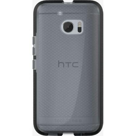 Refurbished   Tech21 Evo Check Flexshock Case For Htc 10   Smokey Black