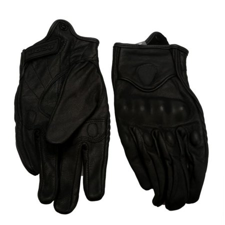 Cruiser Bike Gloves (Short leather gloves for bicycle protection in motorcycle cycling competition)