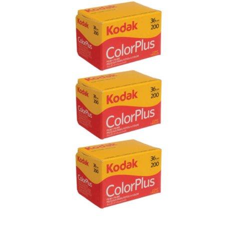 - 3 Rolls Kodak Color Plus 200 asa 36 Exp 35mm ColorPlus Film