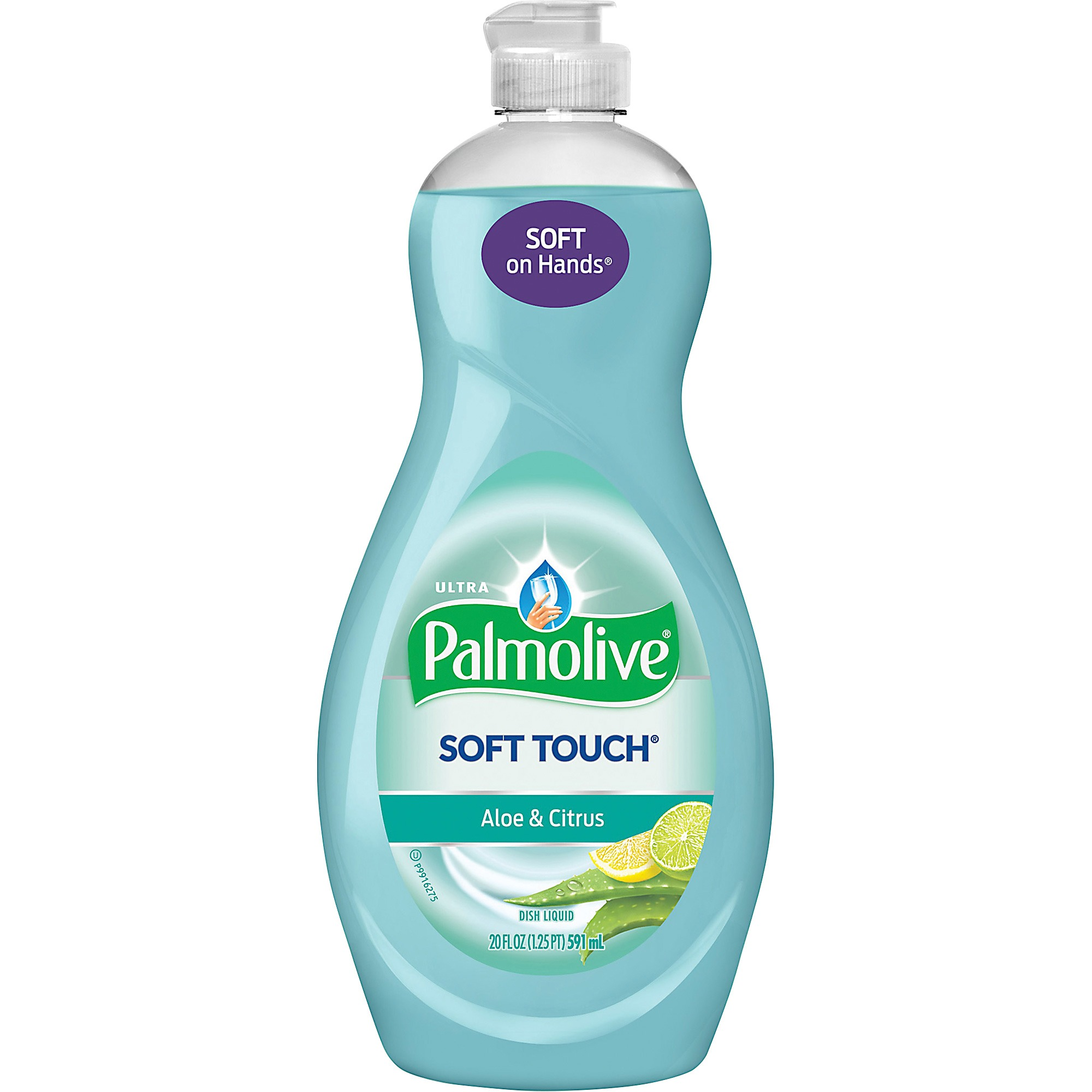 Palmolive Ultra Soft Touch Dish Soap, Aloe and Citrus - 20 fl oz
