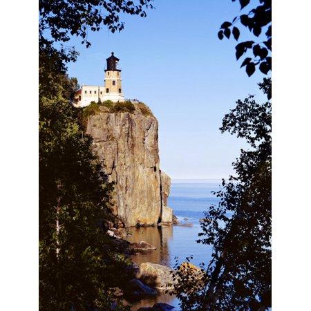 Split Rock Lighthouse, Two Harbors, Lake Superior, Minnesota Print Wall Art By Peter Hawkins