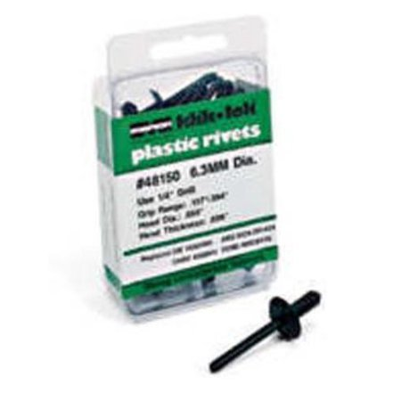 Marson 48151 Klik Lock Plastic Rivets 6.3mm .158-.394