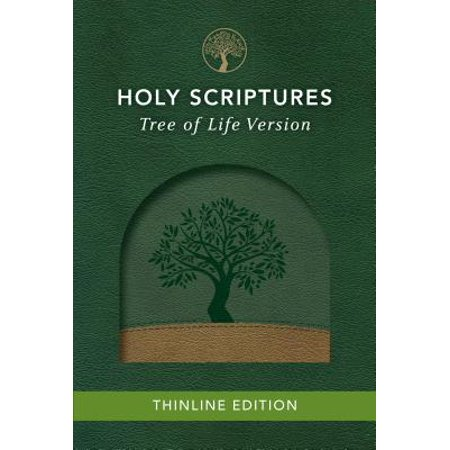 Tlv Thinline Bible, Holy Scriptures, Grove/Sand, Tree Design