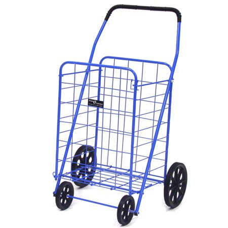 Easy Wheels Jumbo-A Shopping Cart, Blue, 1ct