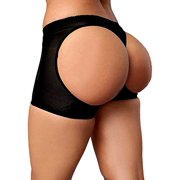 LELINTA Women's Ultra Firm Control Shaping Butt Lifter Panties Body Shaper Low Waist Seamless Hollow Out Shapewear