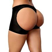 LELINTA Women's Ultra Firm Control Shaping Butt Lifter Panties Body Shaper Low Waist Seamless Hollow Out Shapewear