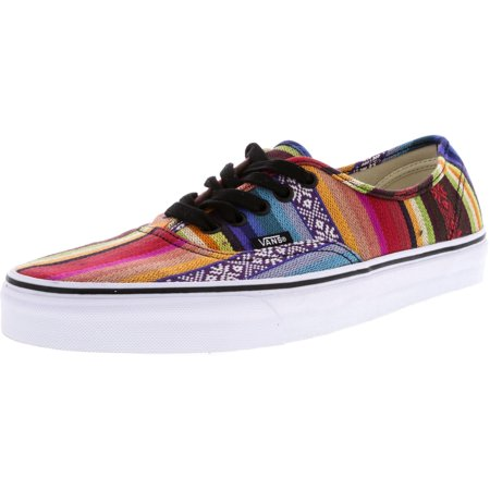 97c6dd86255e39 Vans - Vans Authentic Baja Multi   Black Ankle-High Fabric Skateboarding  Shoe - 10.5M 9M - Walmart.com