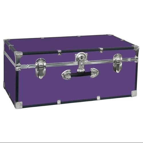 Collegiate 30 in. Footlocker w Handle in Purple
