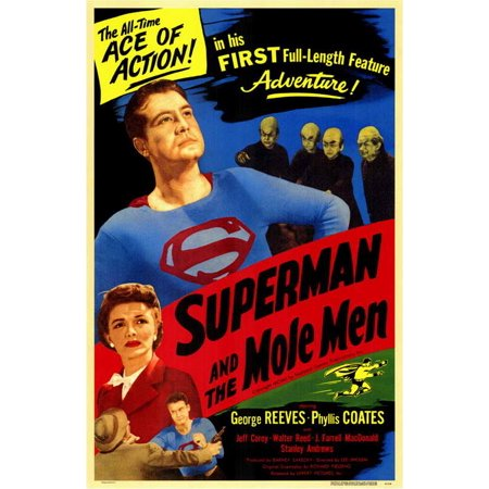 Superman and the Mole Men (1951) 11x17 Movie Poster