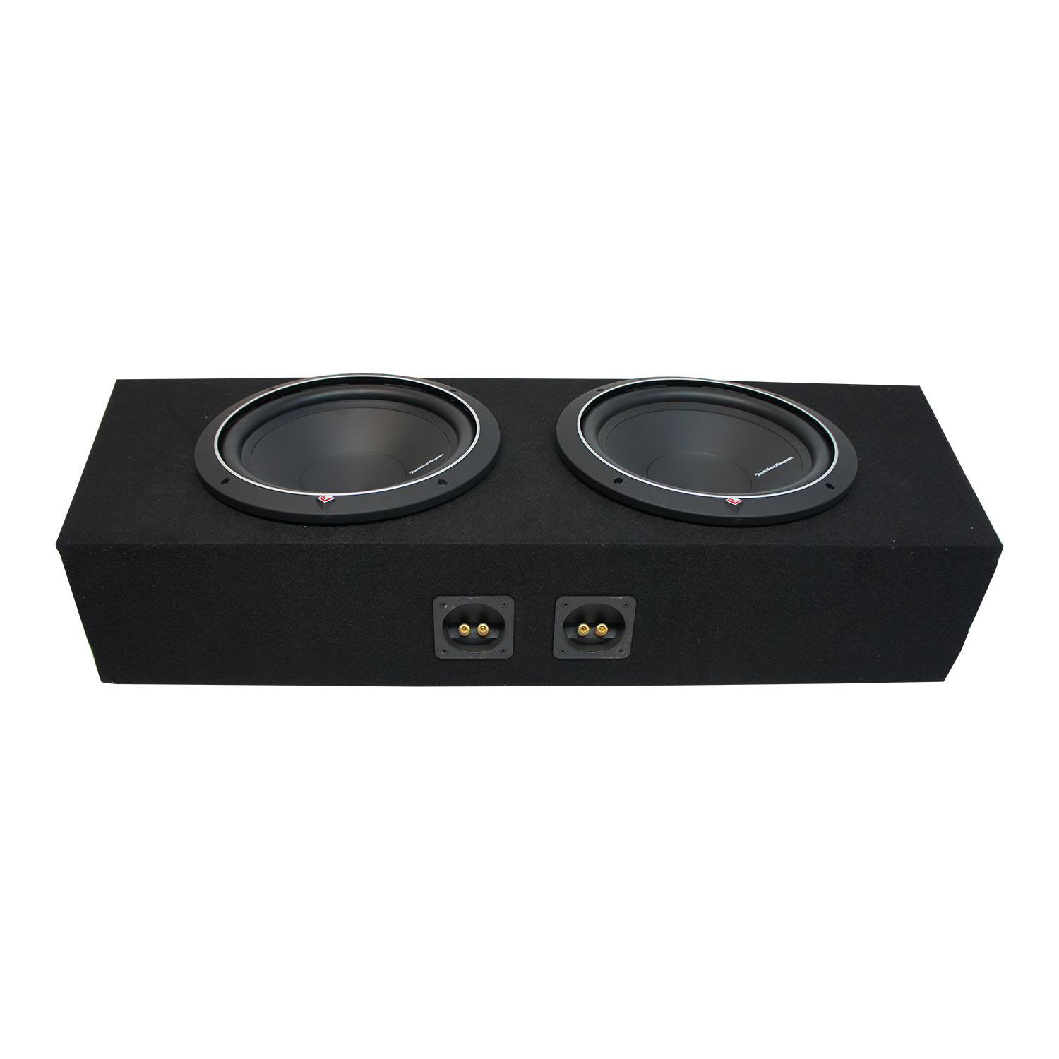 """94-15 Ford Mustang Convertible Rockford Punch P1S412 Dual 12"""" Sub Box New 2 Ohm"""