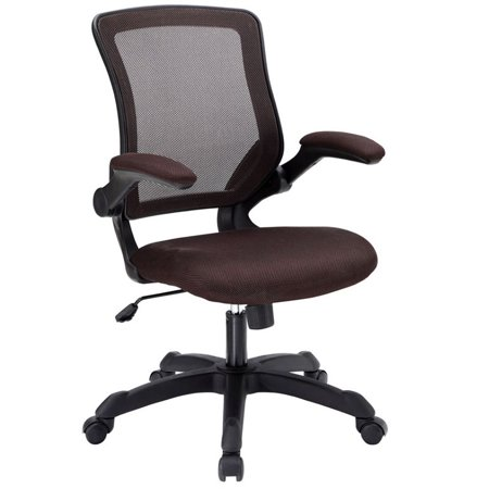 Hawthorne Collection Mesh Office Chair in Brown (Mahogany Governors Office Collection)