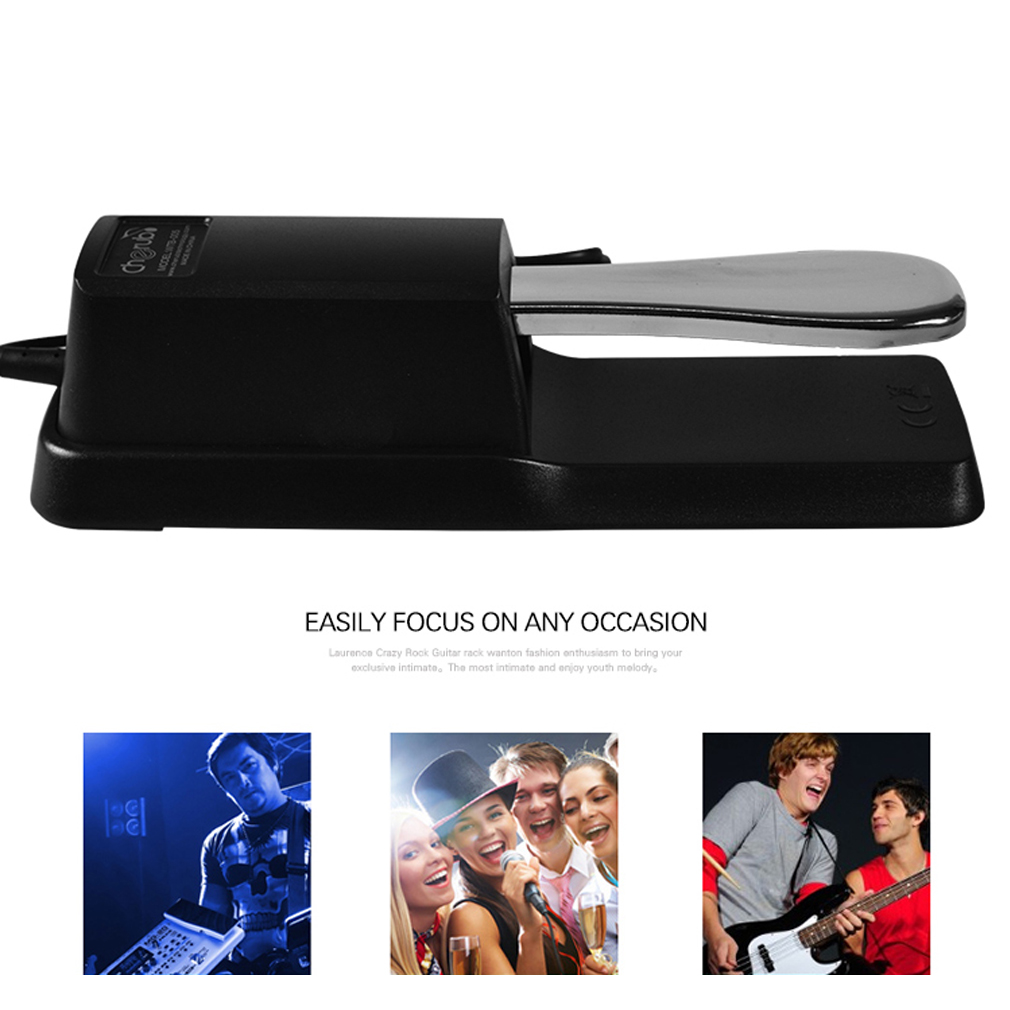 Electronic Organ Cherub Metal Sustain Pedal WTB-005 For Electronic Keyboard Great Musical... by