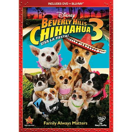 Beverly Hills Chihuahua 3: Viva La Fiesta! (DVD + Blu-ray)](Fiesta Halloween Hd)