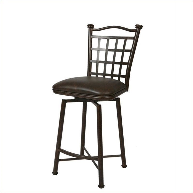 "Pastel Furniture Bay Point 30"" Bar Stool in Autumn Rust by Overstock"