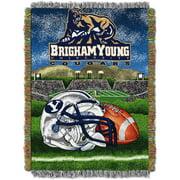 "NCAA 48"" x 60"" Tapestry Throw Home Field Advantage Series- BYU"
