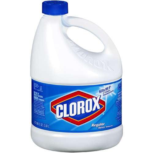 Clorox Regular Bleach, 3 qt