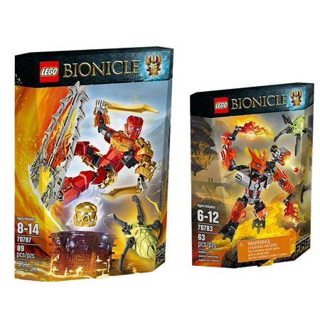 Lego Bionicle Protector Of Fire Power Up Set  70787  70783