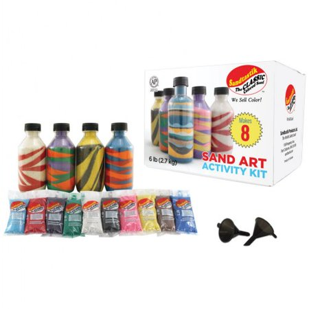 Sand Art Activity Kit (Sand Art Kit)