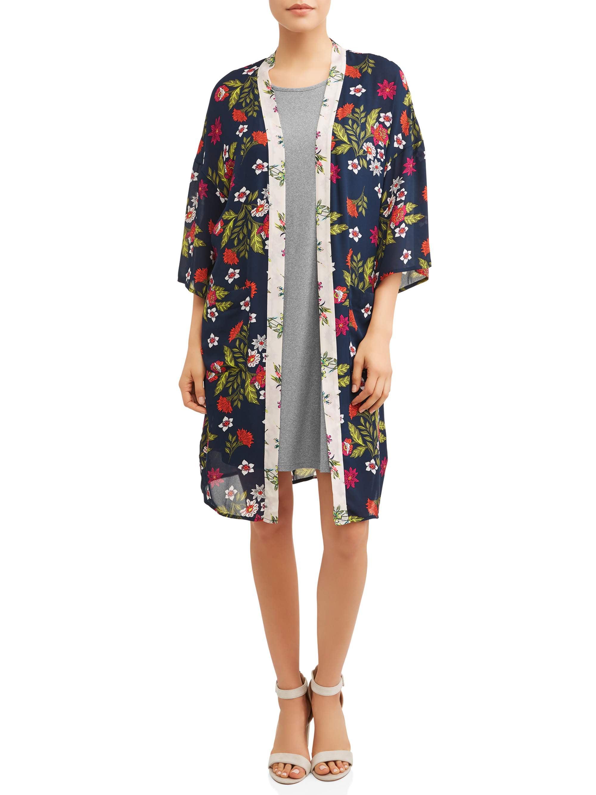 Women's 2fer Dress & Kimono