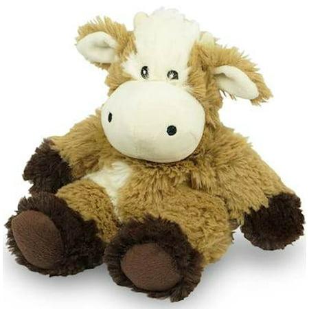 COW JUNIOR WARMIES Cozy Plush Heatable Lavender Scented Stuffed Animal (Stuffed Animal Cow)