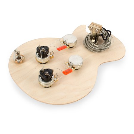 Golden Age Pre-wired Harness for Gibson Les Paul with Push-pull Pots, With standard-shaft CTS
