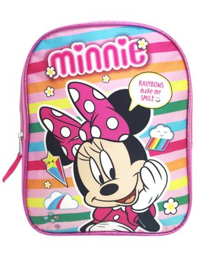 a3b4edb407eb Product Image Girls Minnie Mouse Toddler Backpack Pink 11