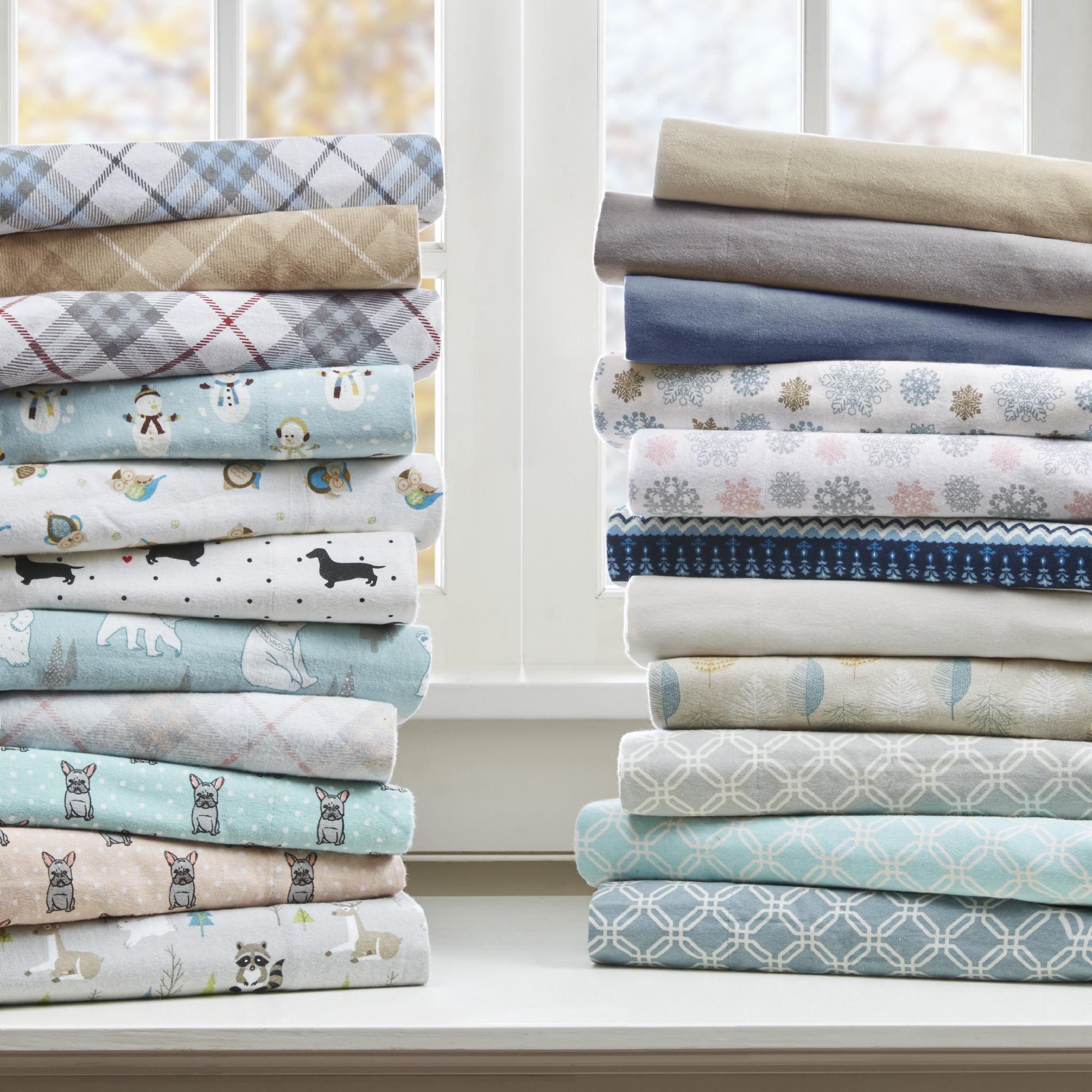 Comfort Classics Cozy Flannel Cotton Sheet Set